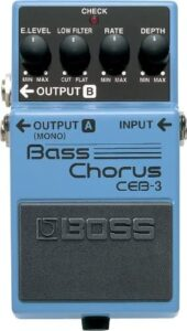 best chorus pedal for bass