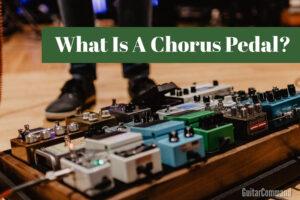 what does a chorus pedal do