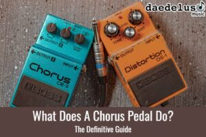 what does a chorus pedal do