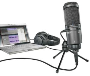 How To Connect A Microphone To A Laptop Or Computer