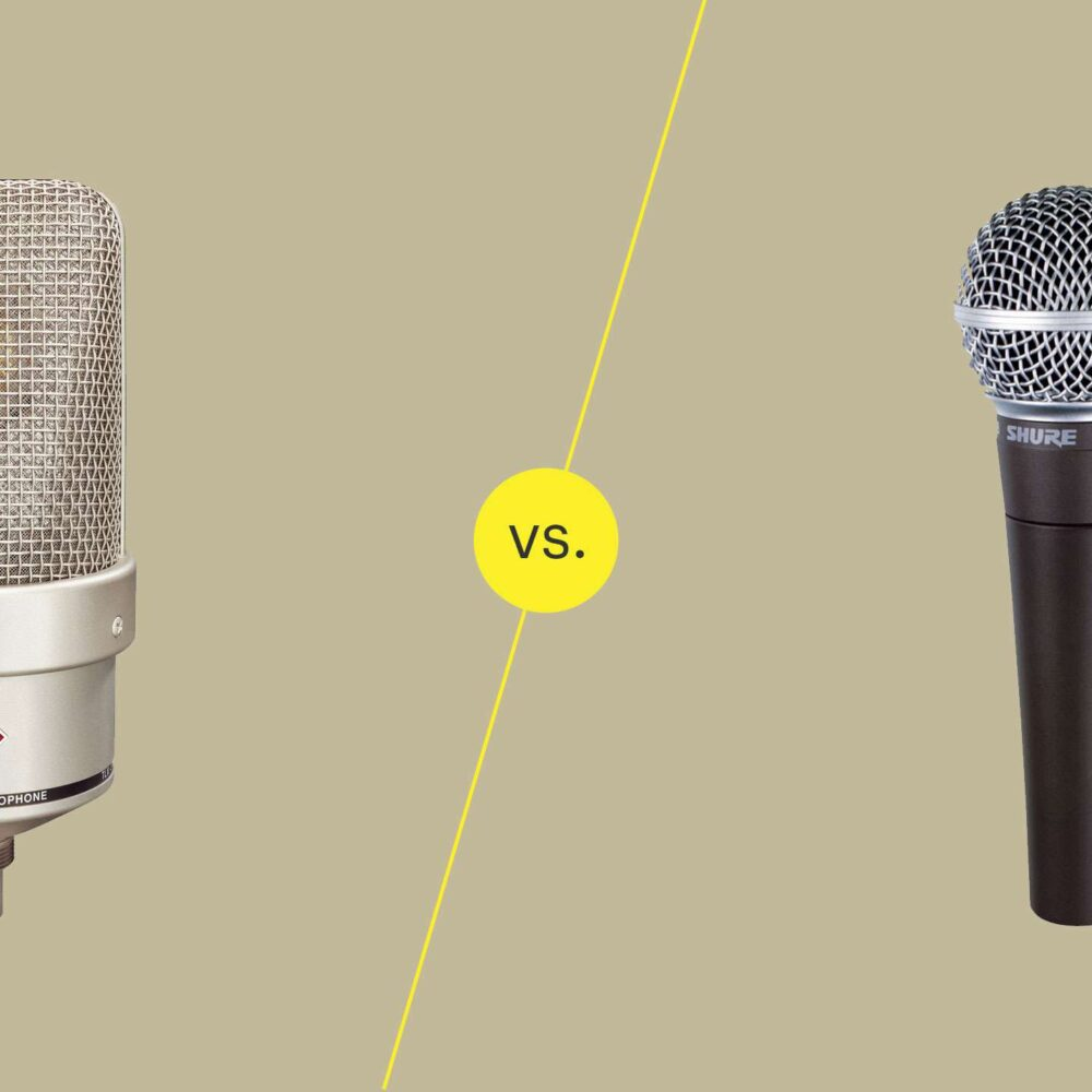 Difference Between Dynamic And Condenser Microphones