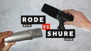 Shure 7B Vs Rode NT1 Review