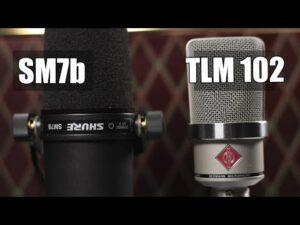 Neumann TLM102 Vs Shure SM7B